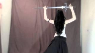 Mahafsoun Sword Bellydance ~ Shiva In Exile {Desert Of Yunus}