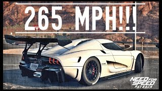 NFS Payback - FASTEST CAR / FULLY UPGRADED KOENIGSEGG REGERA!!