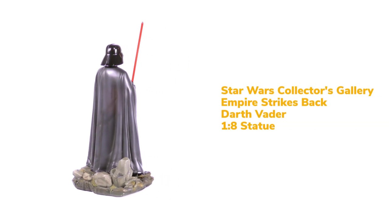 Star Wars Collector's Gallery Empire Strikes Back Darth Vader Statue 360