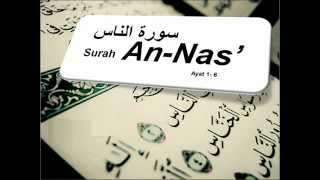 Surah an Nas سـورة النـاس Terjemahan Bahasa Melayu Audio