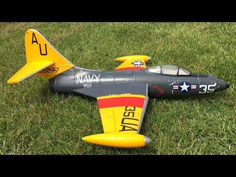 Bryan's Freewing F9F Panther 64mm EDF Jet Flight