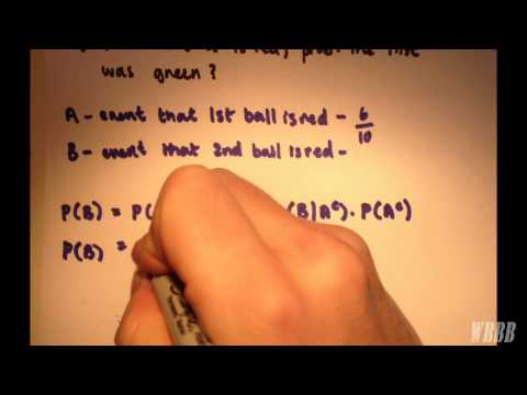 Partition Theorem (Total Probability Theorem) & Bayes Theorem | Example