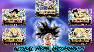 FEATURED LR BANNERS INCOMING!! | GLOBAL HYPE IS REAL | DRAGON BALL Z DOKKAN BATTLE