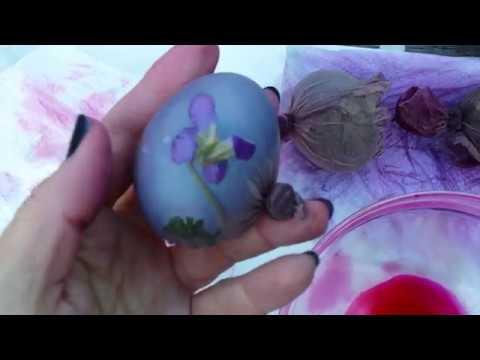 Prirodne boje za hranu i šaranje uskršnjih jaja