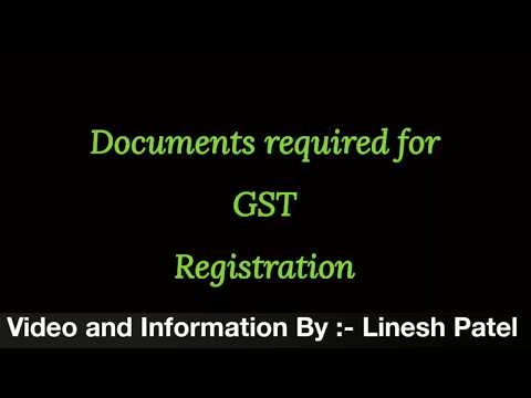 Documents Required for GST Registration - Limited Liability Partnership (LLP)