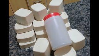 Sabão de Pinho com Soda em Escama – Receita Grande