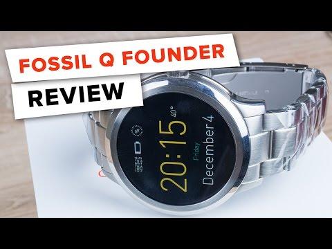 [Deutsch] FOSSIL Q FOUNDER Testbericht // FULLHD