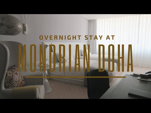 Overnight Stay at Mondrian Doha (15 - 16 December 17) | Karen Faith Vlogs