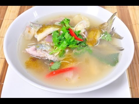 [Thai Food] Boiled Mackerel with Garcinia (Pla Tu Tom Ma Dun)