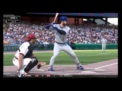 MLB 14 the show Cubs at Phillies June 13 ps4