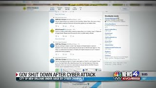 Cyber criminals target city of New Orleans
