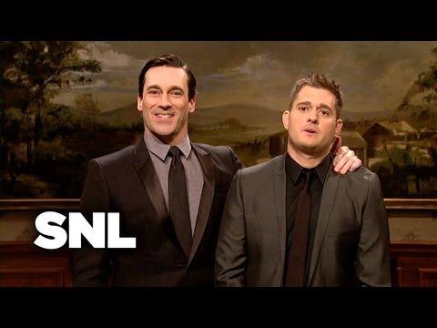 Hamm and Buble - Saturday Night Live