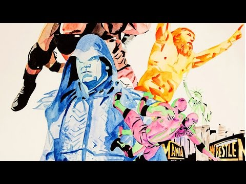 WrestleMania 29 hits the canvas — WWE Canvas 2 Canvas