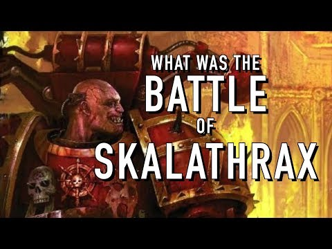40 Fact and Lore on the Battle of Skalathrax Warhammer 40K