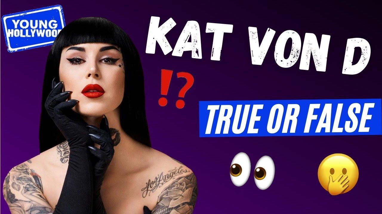 Kat Von D's Cats Are NOT Vegan!