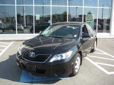 Sold 2010 Black Toyota Camry Le For Sale At Valley