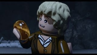 lego lord of the rings level 1 prologue 100 guide all collectibles