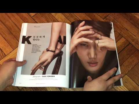 EXO KAI Esquire Magazine UNBOXING