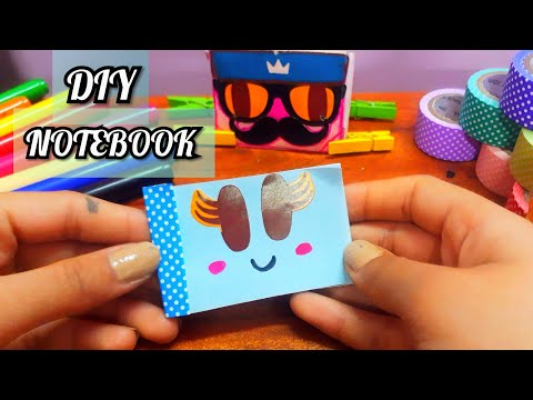 DIY MINI NOTEBOOK || EASY CRAFTS|| CRAFT FROM PAPER || EASY DIY