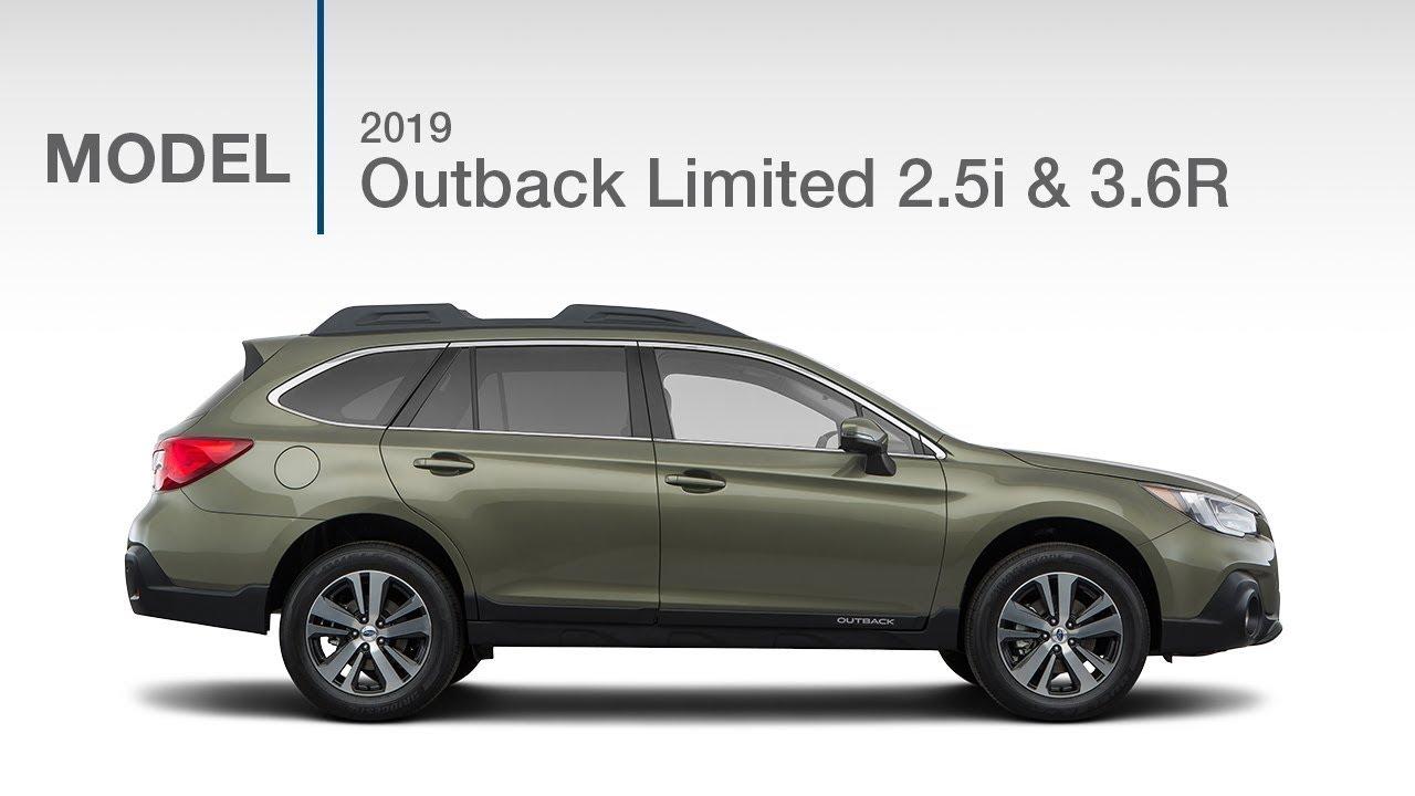 2019 Subaru Outback Premium 2 5i Model Review Youtube
