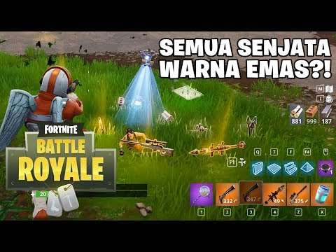 SOLID GOLD MODE DUO VS SQUAD! - Fortnite: Battle Royale (Indonesia)