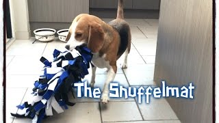"Dog Toy Critic ""louie The Beagle"" Episode #5: The Snuffelmat"