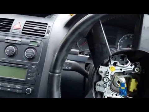 Vw airbag removal