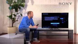 SONY BRAVIA TV - 4 Einschalten und Einrichten