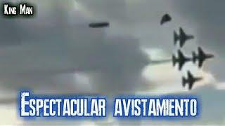 Aviones de combate perseguidos por ovni (Brasil)