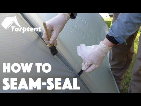 How to Seam Seal Your Tarptent