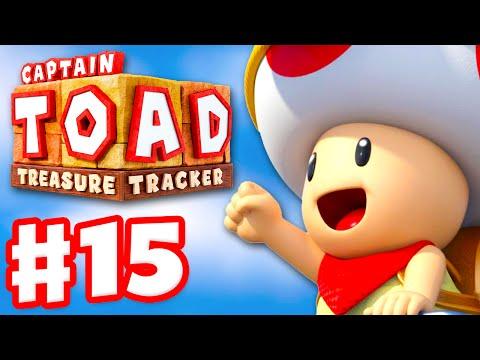 Captain Toad: Treasure Tracker - Gameplay Walkthrough Part 15 - BONUS! 100%