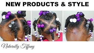 Product Review & Style | Curly Temple | Kids Natural Hair Care