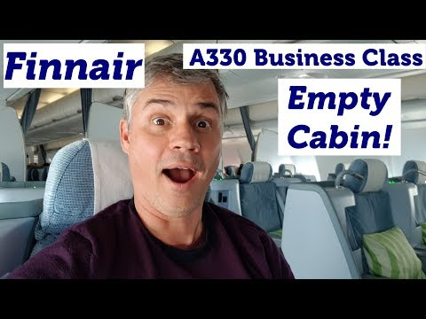 Finnair A330 Business Class Flight Review