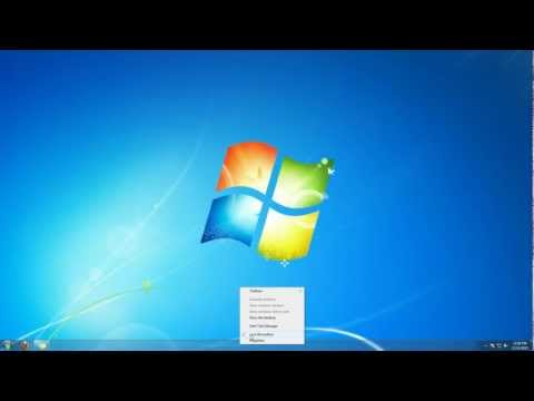 How To Move Taskbar Windows 7