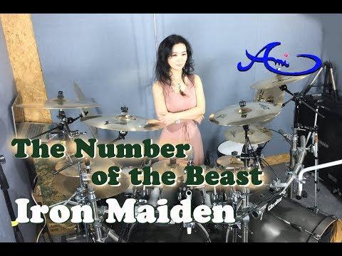 [New] Iron Maiden - The number of the beast drum cover by Ami Kim (32th)