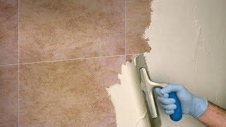 Rinnovare  le pareti di BAGNO e CUCINA senza  rimuovere le PIASTRELLE-to renew tiles