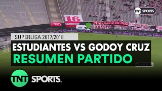 Resumen de Estudiantes LP vs Godoy Cruz | Fecha 20 - Superliga Argentina 2017/2018