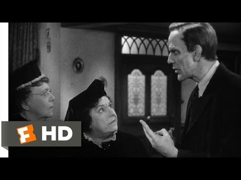 Arsenic and Old Lace (6/10) Movie CLIP - The Cellar's Crowded Already (1944) HD