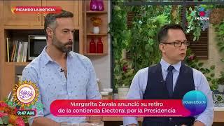 Picando la noticia: ¡Así repercute la renuncia de Margarita Zavala! | Sale el Sol