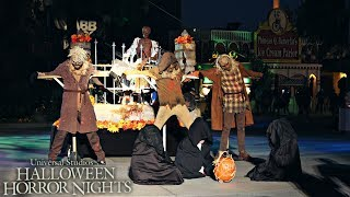 Halloween Horror Nights 2017 Opening Scaremony