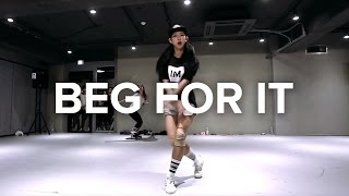 Gambar cover Mina Myoung Choreography / Beg For It - Iggy Azalea (feat  MØ)