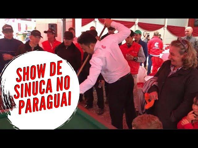 Cotripar - Noel dá Show de Sinuca no Paraguai