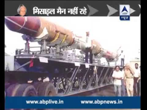 Dr APJ Abdul Kalam achieved great heights in developing missiles