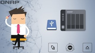 QNAP Backup - H๐w to backup your NAS to an External USB Disk.