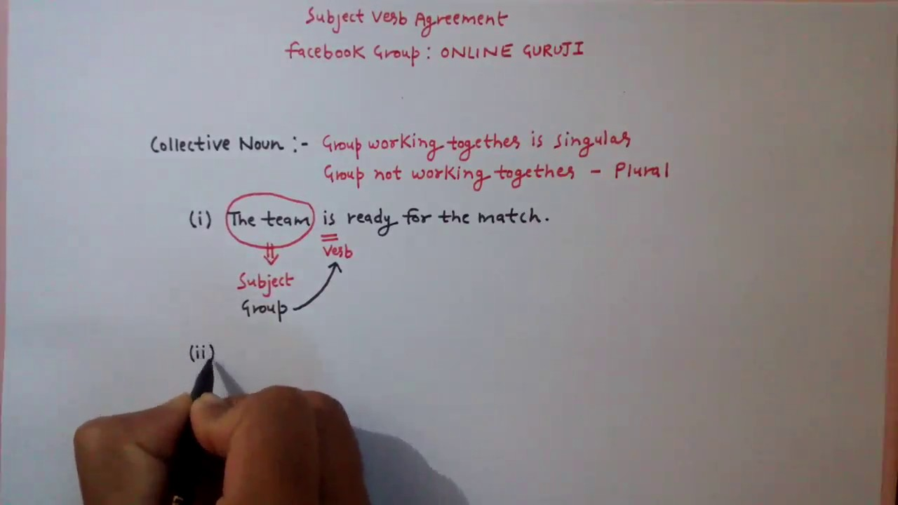 Subject Verb Agreement Part 4 Ssc Cgl Bank Po Cds Mba Etc