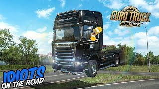 Euro Truck Simulator 2 Multiplayer Funny Moments & Crash Compilation #103