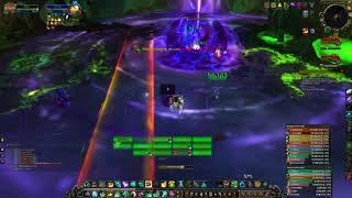 WoW Fist - Mistweaver Heal Monk Antorus, the Burning Throne Argus Raid Felhounds of Sargeras POV
