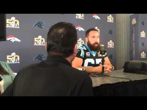 Ryan Kalil habla de su equipo Los Panthers