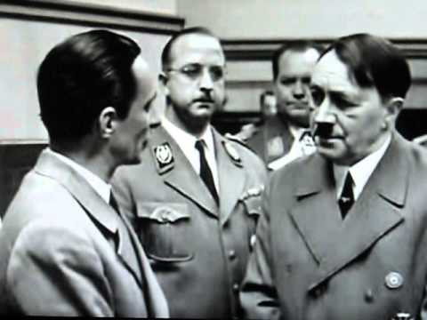 Отрывок из фильма Освобождение 20 апреля 1945 года Бункер Гитлера