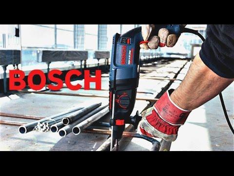 BOSCH Самый лучший и надежный перфоратор для дома и работы 620W Обзор на универсальный перфоратор.
